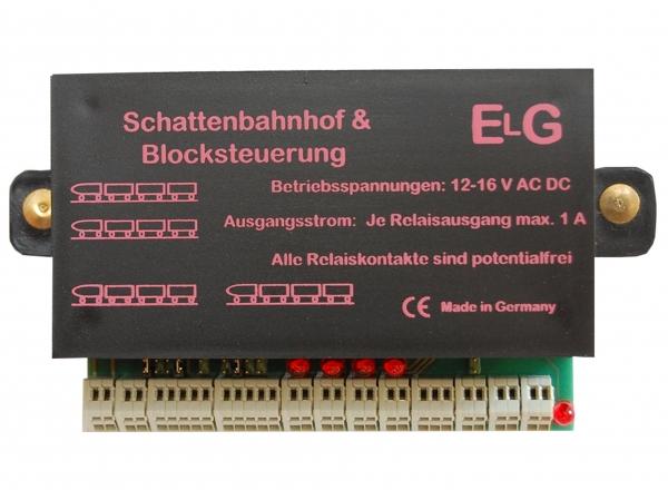 ELG Modellbau - Schattenbahnhof - Blocksteuerung
